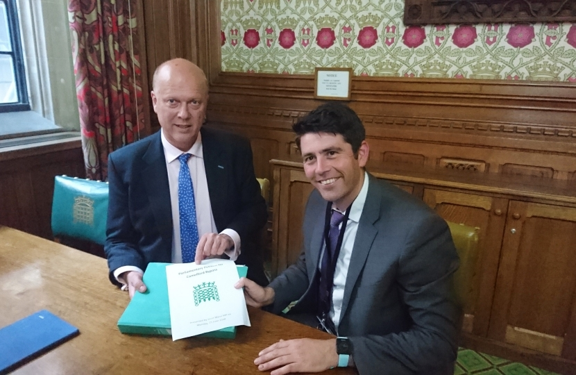 Scott Mann and Chris Grayling