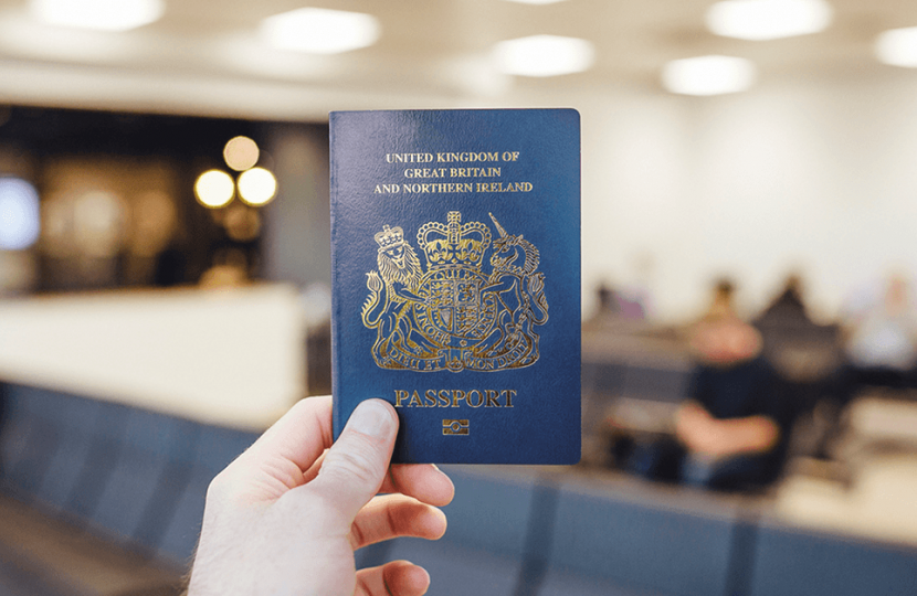 Return of the Blue Passport
