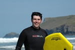 Scott Mann surfing